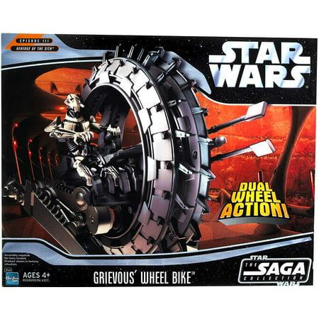 Star Wars Revenge of the Sith 2005 Grievous's Wheel Bike Vehicle