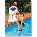 Cloud rider rainbow unicorn inflatable ride on pool float - Swimming pool basketball hoop costco ...
