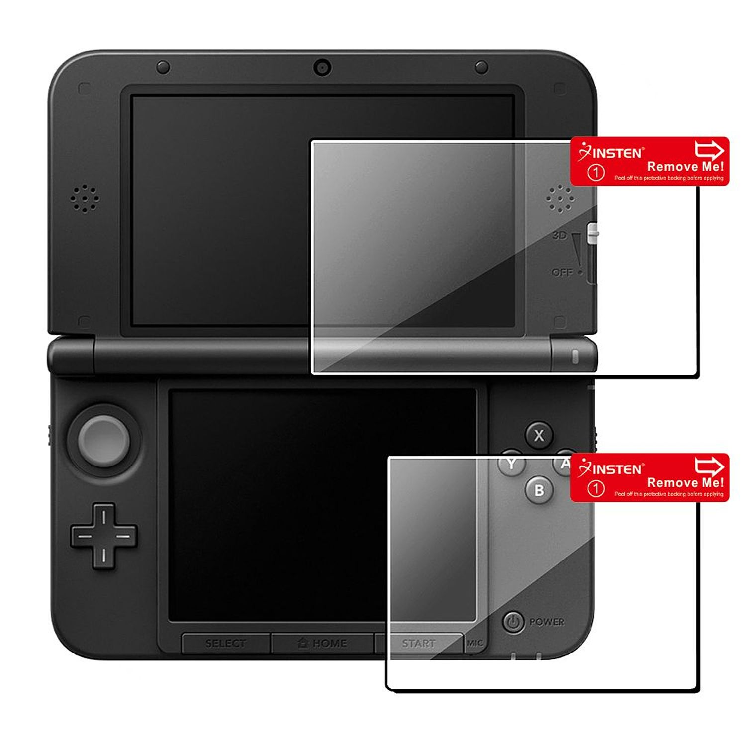 Insten 2-LCD Kit Screen Protector For Nintendo NEW 3DS XL LL / 3DS XL LL