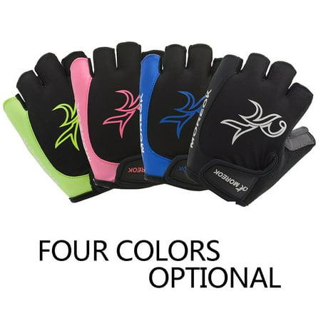 Outdoor Women Road MTB Bike Bicycle Cycling Outdoor Sports Half Finger Gloves - image 2 de 7