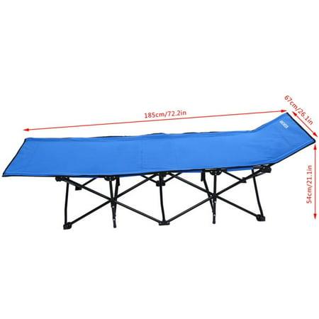home office folding portable easy set up sleeping cot camp bed with carry bag smt. Black Bedroom Furniture Sets. Home Design Ideas