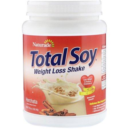 Naturade  Total Soy  Weight Loss Shake  Horchata  1 2 lbs  540