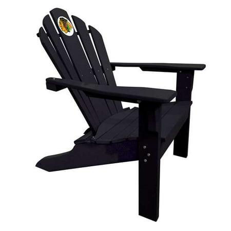 CHICAGO BLACKHAWKS Black Big Daddy Adirondack Chair ()