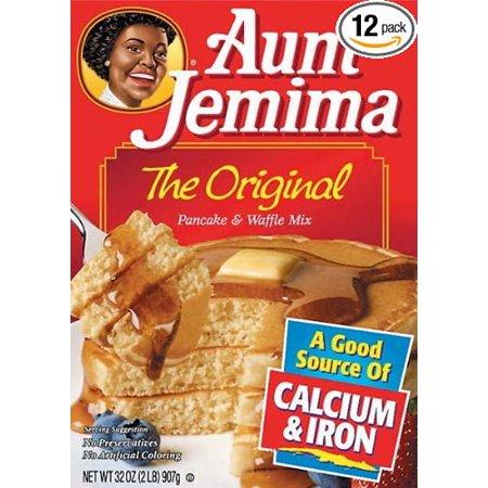 Aunt Jemima Original Pancake Mix - Aunt Jemima Original Pancake & Waffle Mix 32 Oz. Pack Of 3.