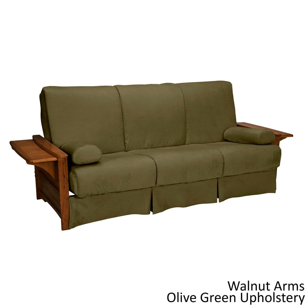 EpicFurnishings Bellevue Perfect Sit & Sleep Transitional-style Pillow Top Full-size Futon Sofa