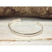 Laura J Designs b71 Sterling Silver Bangle Bracelet