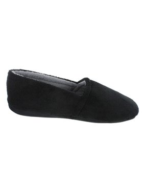 Rugged Blue Soft Fleece Lined Slippers Black Size 7