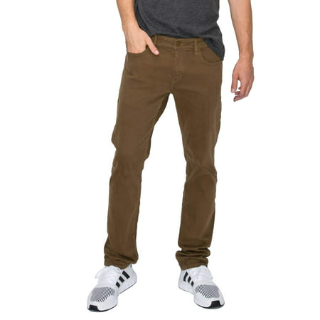 RING OF FIRE Men's Chroma Five Pockets Slim Fit Stretch Jeans Comfort Stretch 5 Pocket Jeans