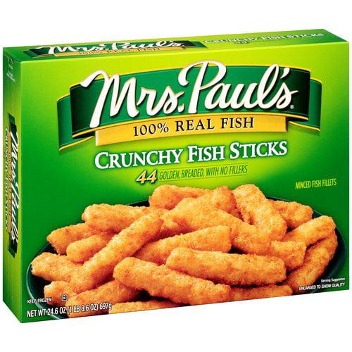 Mrs. Paul's® Crunchy Fish Sticks 24.6 oz. Box