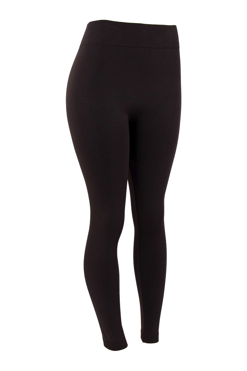 Mopas Women's Plus Size Fleece Lined Leggings