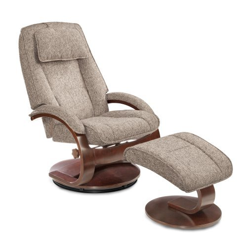 MAC Motion Oslo Teatro Recliner with Ottoman