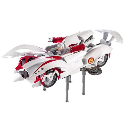Speed Racer Hero Mach 6 Vehicle and Figure