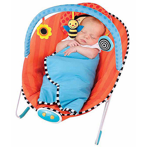 Sassy Cuddle Bug Bumblebee Bouncer