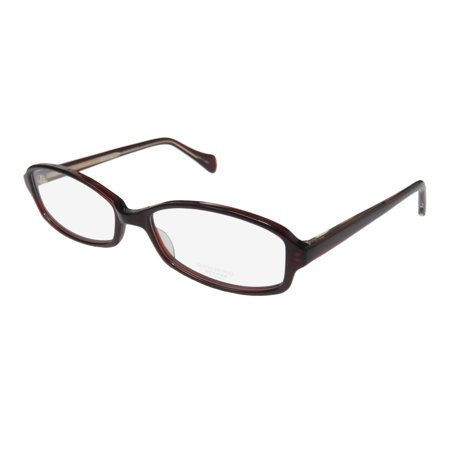 New Oliver Peoples Talana Womens/Ladies Designer Full-Rim Burgundy Casual Trendy High-end Frame Demo Lenses 52-16-140 Eyeglasses/Eyeglass Frame