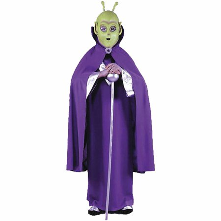 Alien Mask with Cape Child Halloween Accessory (Alien Morph Mask)
