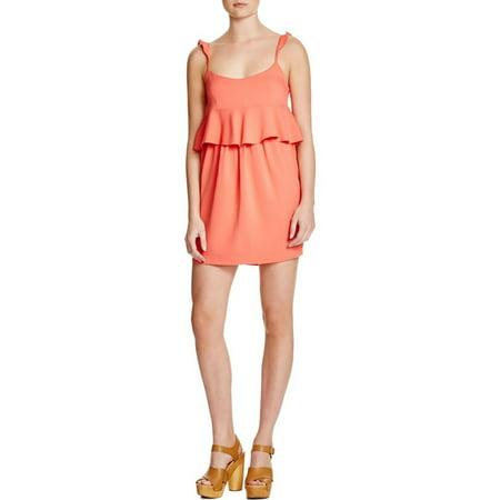 Rachel Zoe Womens Bridgit Ruffled Sleeveless Party - Zoe Ltd Dress