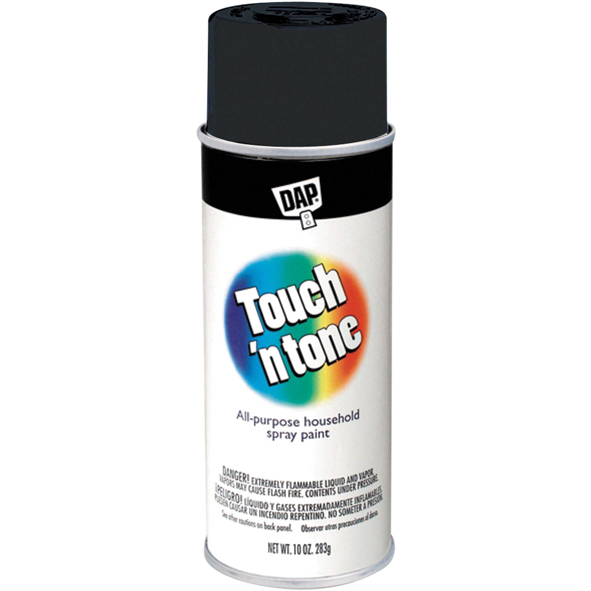 AP Products 003-55275 Spray Paint, Flat Black
