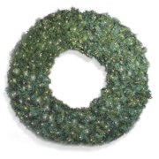 72 in. Pre-lit Commercial Grade Christmas Wreath