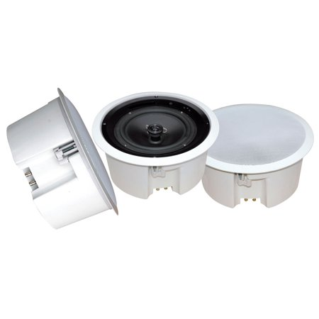 In-Ceiling Enclosed Speaker System w/Rotary Tapping 70V Transformer