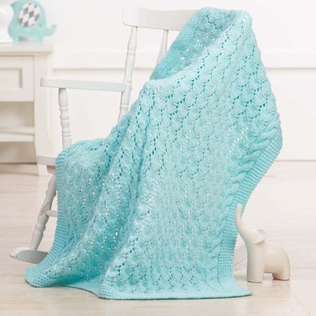 Lazy Dayz Baby Blanket Knit Pattern