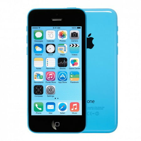 walmart iphone 5c refurbished apple iphone 5c unlocked blue 16gb me507ll a 13272