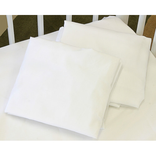 L.A. Baby Cotton Knitted Flat Crib Sheet