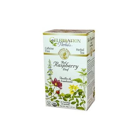 (Celebration Herbals Red Raspberry Leaf Tea Organic, 24 Ct)