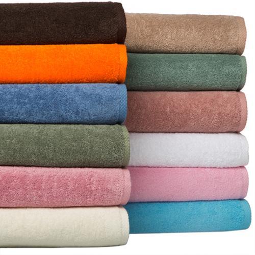 Salbakos Arsenal Turkish Cotton Quick-dry 8-piece Towel Set with Bath Sheet Towels Chocolate
