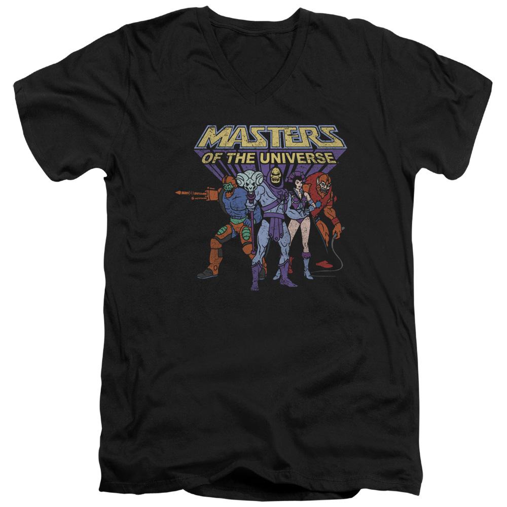 Masters Of The Universe Team Of Villains Mens V-Neck Shirt
