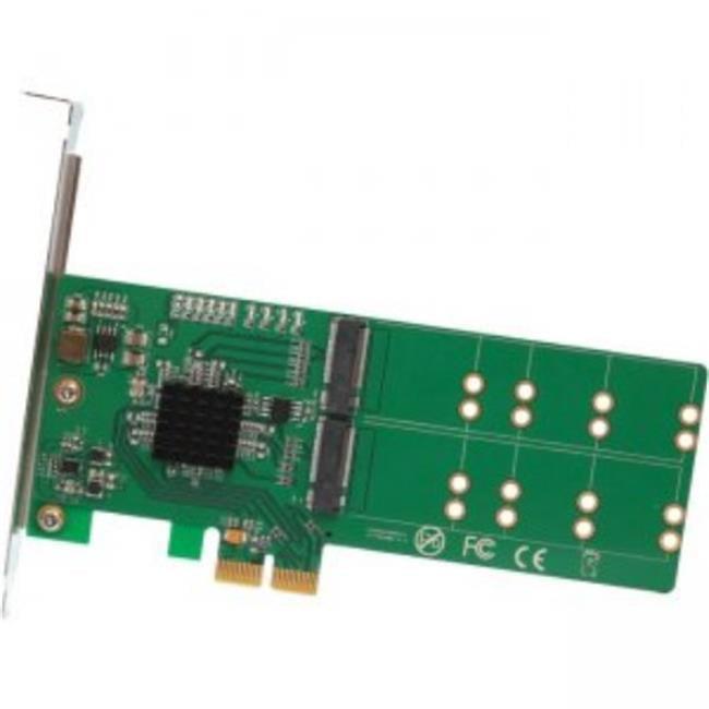 4 Port M.2 to PCI-e x2 B or B Plus M Key Adapter Card
