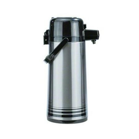 - Update International (NPD-25-BK/SF) 2.5 L Stainless Steel Button-Top Air Pot