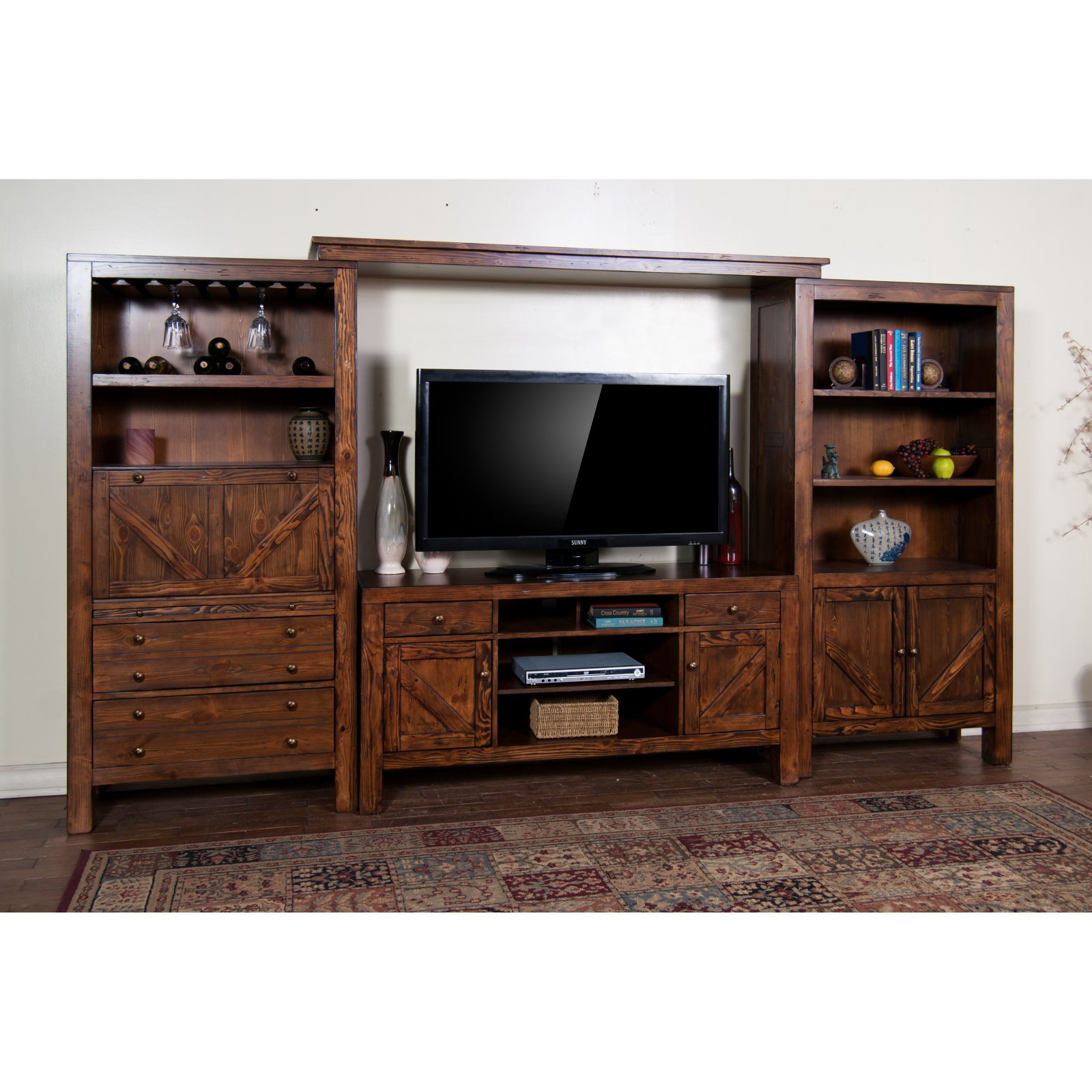 Sunny Designs Ranch House 62 in. Entertainment Center