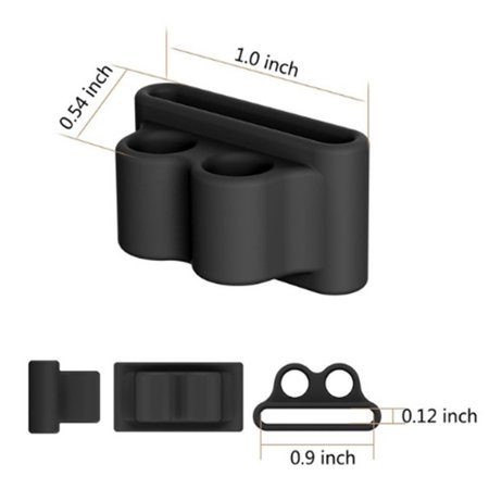 Jeir Soft Anti-lost Silicone Wireless Earphone Holder Strap Case for Airpods - image 7 of 8