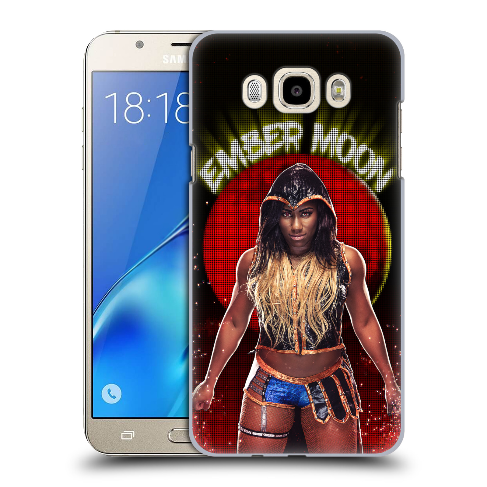 OFFICIAL WWE EMBER MOON HARD BACK CASE FOR SAMSUNG PHONES 3