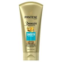 Shampoo & Conditioner: Pantene Pro-V 3 Minute Miracle Smooth & Sleek