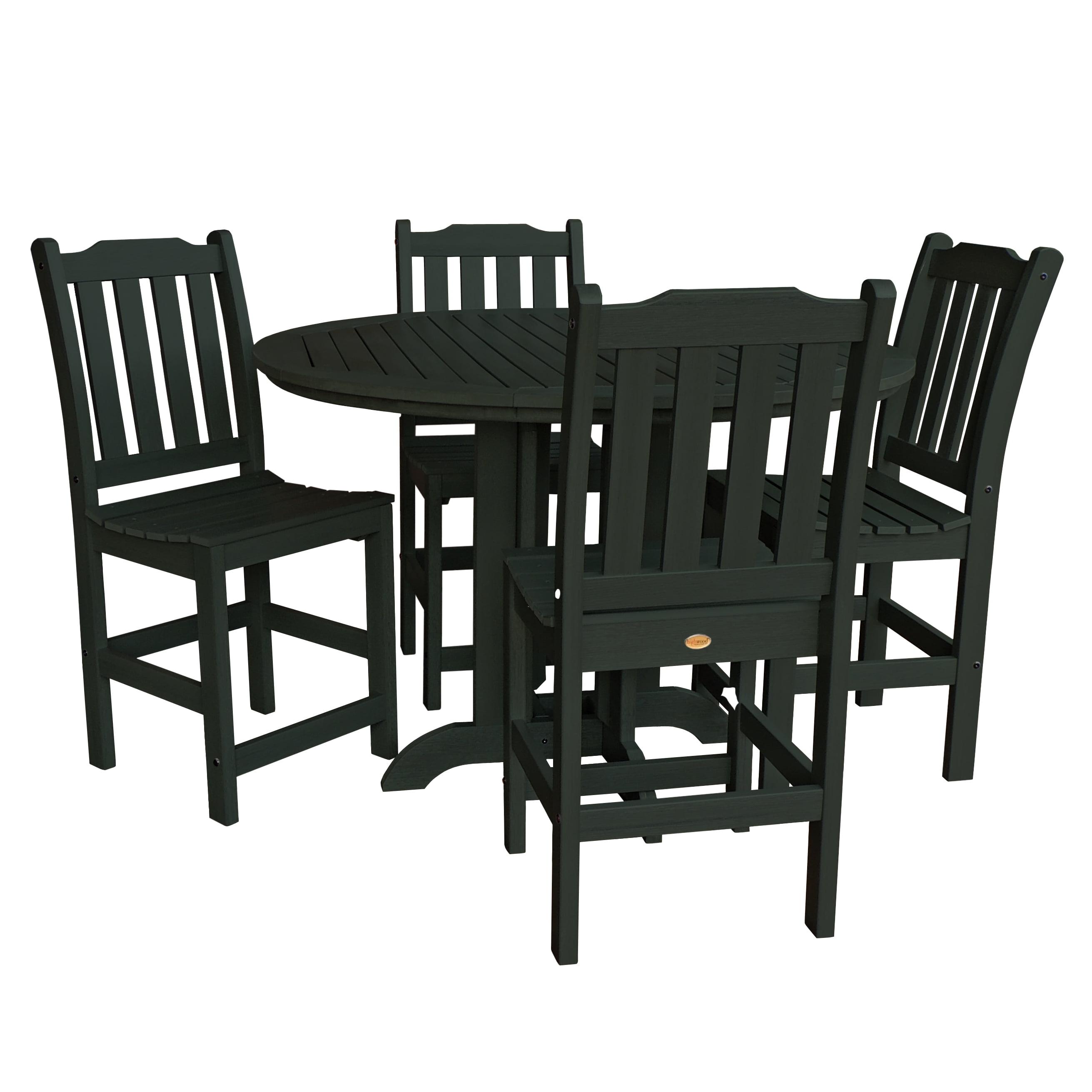highwood® Eco-Friendly Lehigh 5pc Round Counter Dining Set