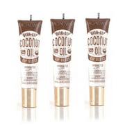 Broadway Vita-Lip Clear Lip Gloss 0.47oz/14ml (BCLG0301- Coconut Oil), Pack of 3