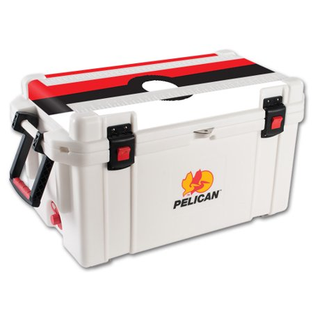 MightySkins Skin For Pelican 65 qt Cooler Lid | Protective, Durable, and Unique Vinyl Decal wrap cover | Easy To Apply, Remove, and Change Styles | Made in the USA