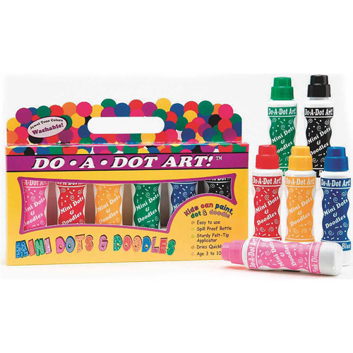 Do-A-Dot Art Mini Dot Markers, 6pk