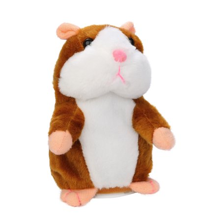 Hilarious Babbling Parody Talking Hamster Spoof Plush Toy (See Vid to Learn When to - Adult Hamster