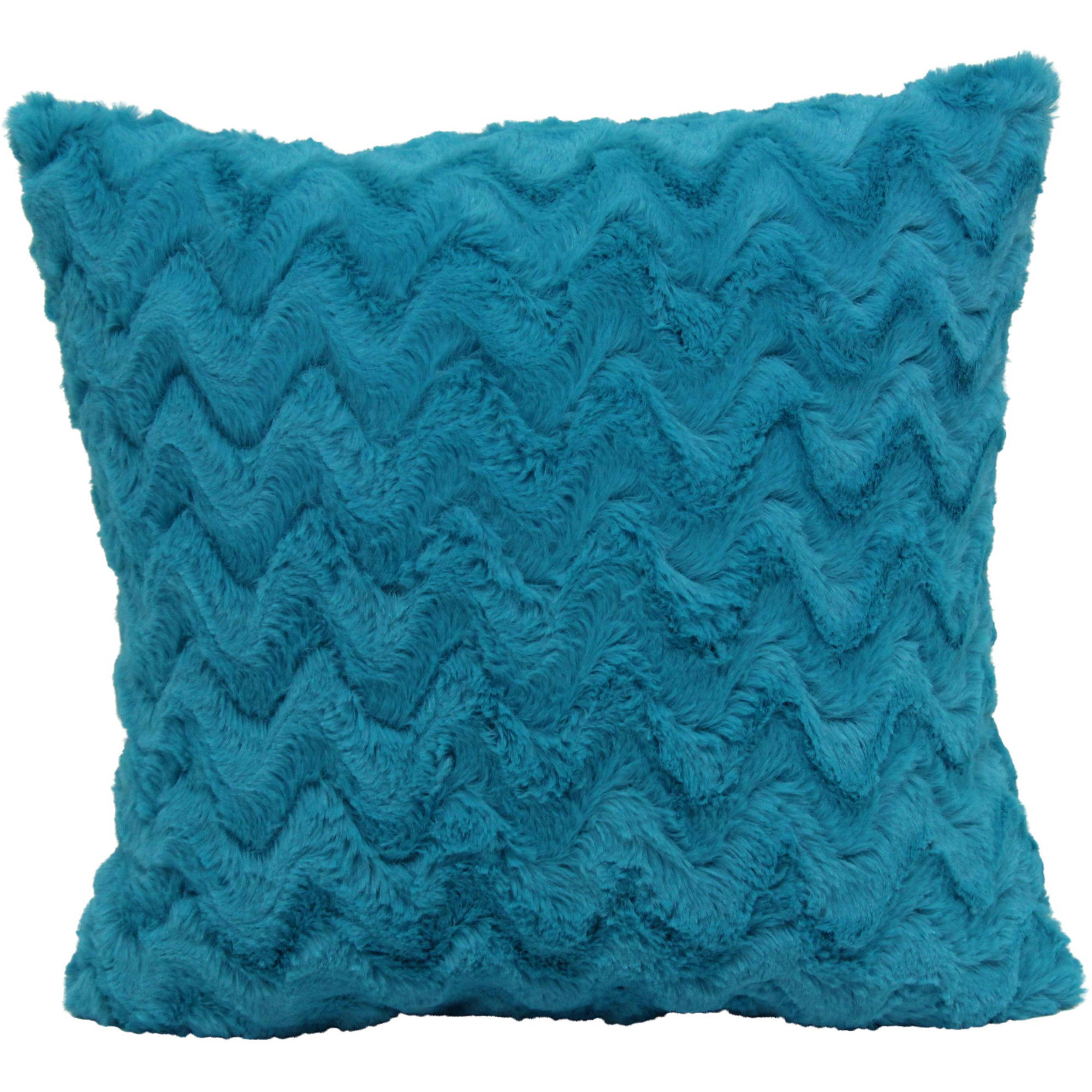 your zone ripple pillow, teal