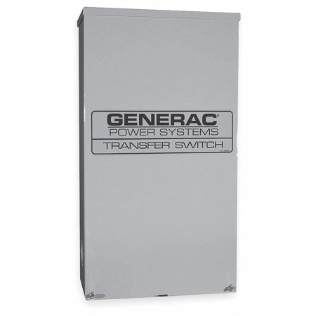 GENERAC RTSW400A3 Automatic Transfer Switch,240V,48 in. (Best Transfer Switch For Generator)