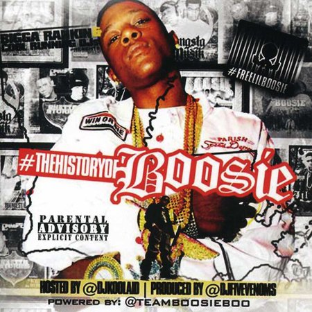 The History Of Boosie (CD)