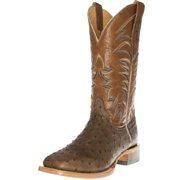 Cinch Western Boots Mens Full Quill Ostrich Leather Oryx CFM551