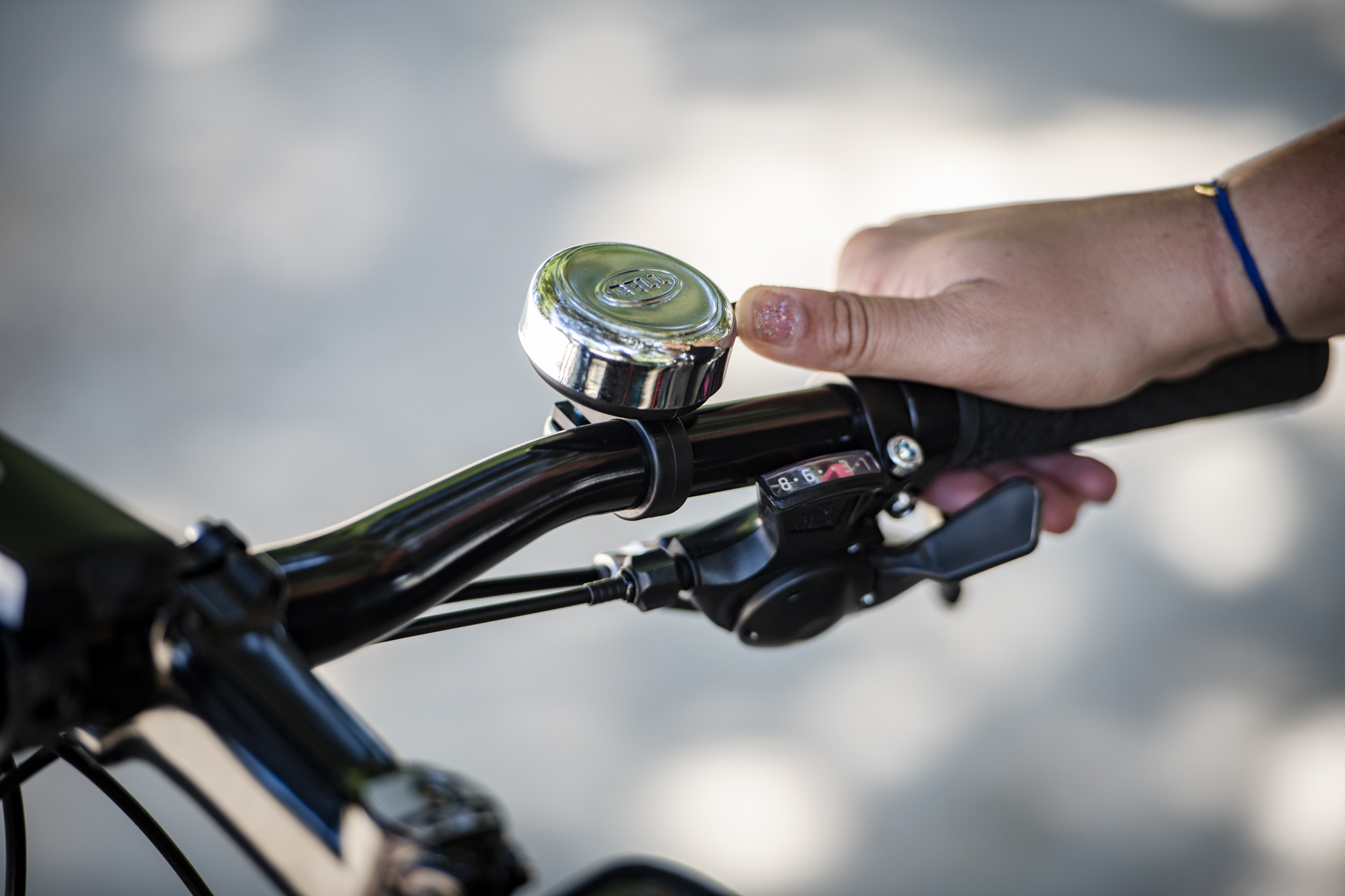 Children/'s Bike Bells CHRISTMAS GIFT RETRO ROUND JUNIOR KIDS BIKE DING DONG BELL