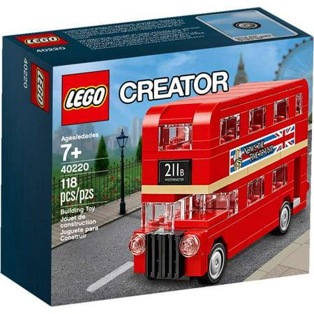 Creator Double Decker London Bus Set LEGO 40220 (London Bridge Lego)