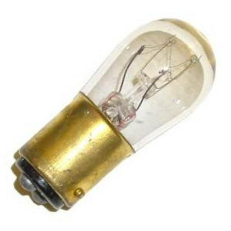 Satco 03901 - 6S6/DC  130V   S3901 Double Contact Bayonet Base Scoreboard Sign Light Bulb