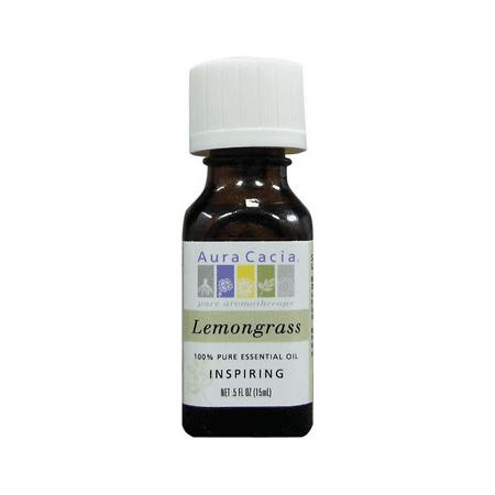 Aura Cacia Essential Oil Lemongrass 0.50 oz