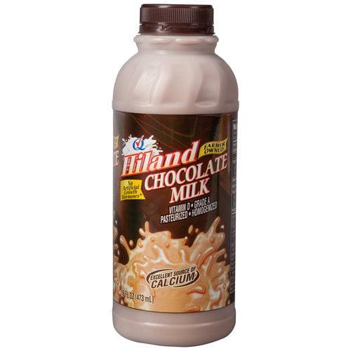Hiland Chocolate Milk, 1 Pint