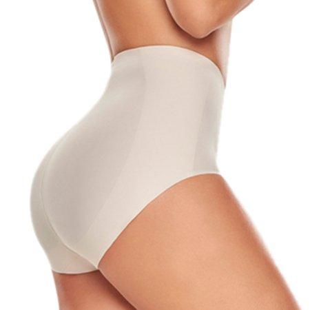 0506dcb38d TrueShapers - TrueShapers 1275 Mid-Waist Control Panty with Butt Lifter  Benefits - Walmart.com